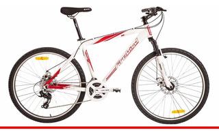 Bicicleta Aluminio R26 Mtb Shimano 24v Freno Disco