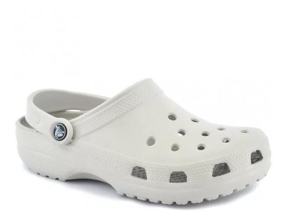 Crocs Classic Gris Perla Adulto Originales De Mujer Y Hombre