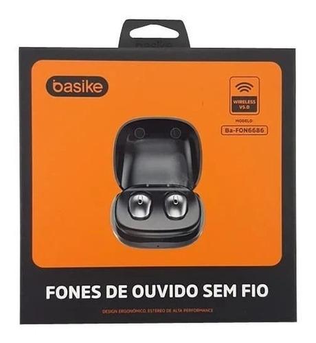 Fone De Ouvido Estéreo Sem Fio Bluetooth  Ba Fon-6686