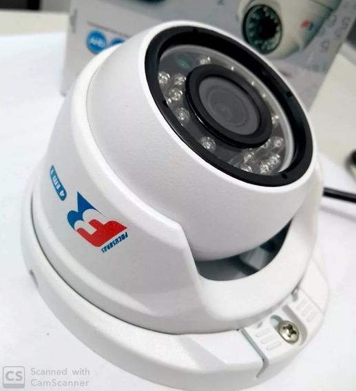3 Câmeras De Segurança Externa Full Hd 4 Em 1 Focusbras 2.8m