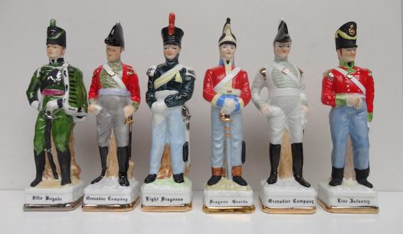 Soberbas E Antigas Estatuetas Inglesas Militar - 1960/70