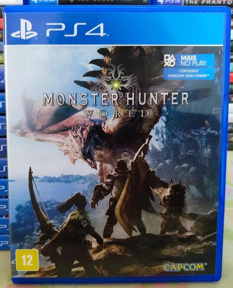 Monster Hunter World Ps4 Jogo Mídia Física Português