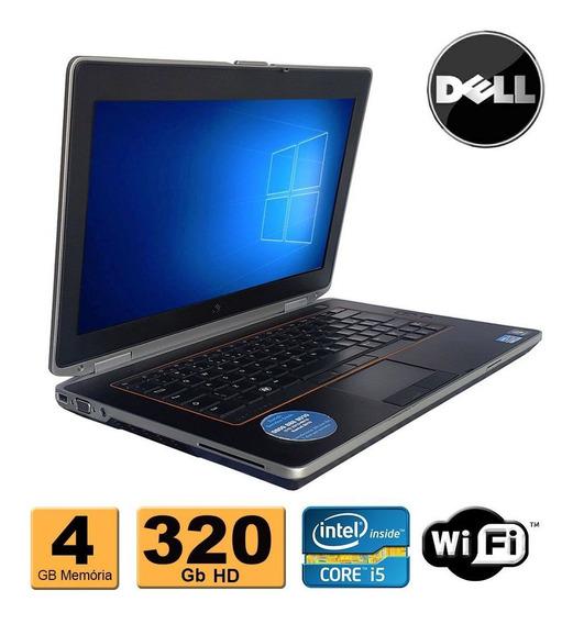 Notebook Dell E6420 Core I5 4gb Hd 320gb Hdmi