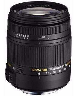 Lente Sigma 18-250mm F3.5-6.3 Dc Macro Os Hsm Nikon Canon