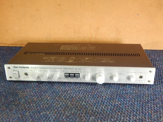 Cygnus Ac 200 Amplificador Vintage [ Gradiente Polyvox]