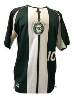 Camisa Oficial Coritiba Penalty 2004- Comemorativa Fita Azul