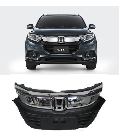 Grade Dianteira Radiador Honda Hrv 2019 2020 Original