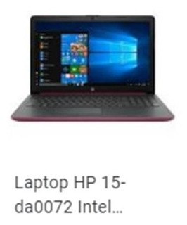 Laptop Hp 15-da0072 Intelpentuin