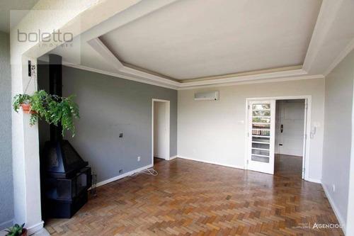 Apartamento Com 3 Dormitórios À Venda, Petrópolis, Porto Alegre - Ap1302
