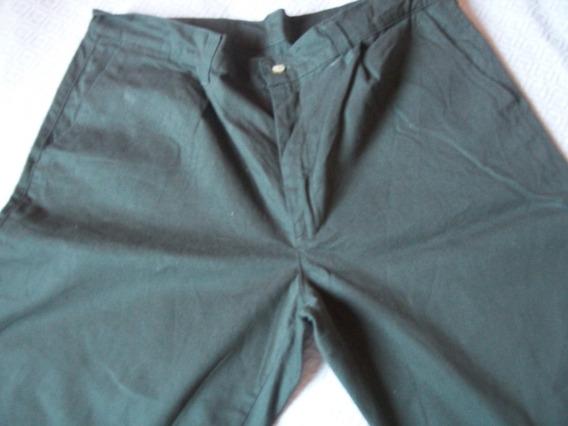 Pantalon Bermuda Hombre Con Cierre Talle 52 Casi Nvo, 1 Post