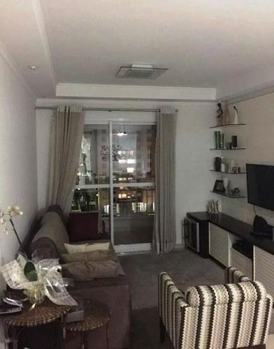 Imagem 1 de 13 de Apartamento Residencial À Venda, Tatuapé, São Paulo. - Ap3966