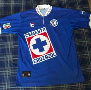 Jersey Cruz Azul Fila 1997 Numero Oficial #39