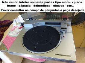 Toca Disco Sony Ps-lx510bs Vendo Peças Motor Placa Teclas Et