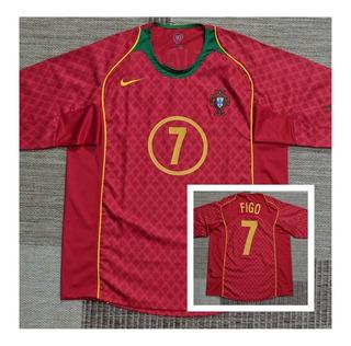 Camisa Seleção Portugal 2004 _ Luis Figo _ Impecável