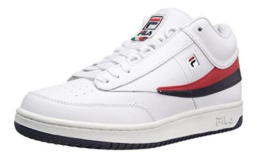 Zapatillas Fila T-1 Mid Fashion Para Hombre