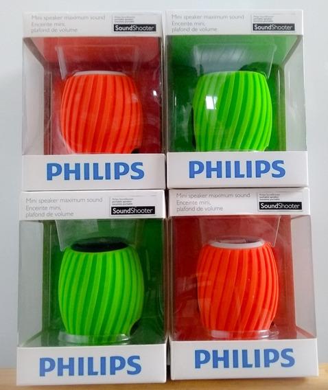 São 2 Caixa Som Philips Nova