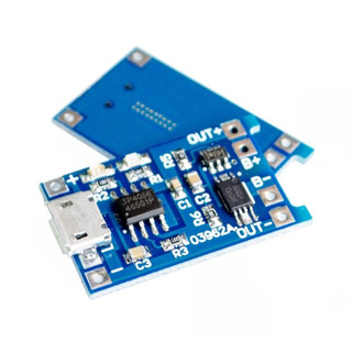 Cargador Bateria Litio Tp4056 Con Proteccion Nubbeo