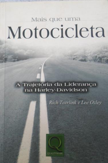 Livro Mais Que Uma Motocicleta