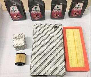 Kit Cambio De Aceite Filtro Aire Fiat Qubo Original