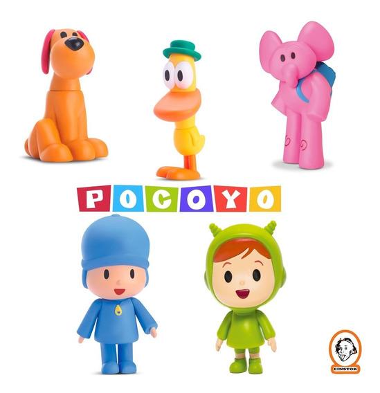 Bonecos Pocoyo De Vinil - Kit C/ 5