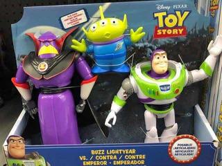 Toy Story Buz Lightyear Y Emperador Zurg (mattel Gjt94)