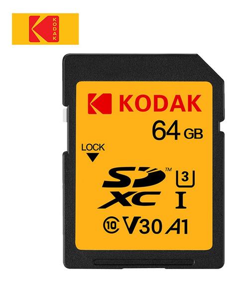 Kodak U3 Cartão Sd 64gb Cartão De Memória Uhs-i Alta Velocid