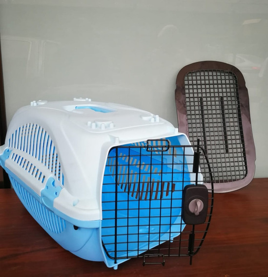 Jaula Transportadora Para Mascotas (diferentes Tamaños)