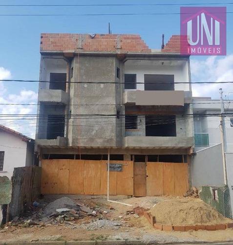 Cobertura Residencial À Venda, Jardim Santo Antônio, Santo André. - Co0643
