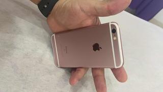iPhone 6s Rose , 64gb , Acompanha 4 Capas E Um Carregador.