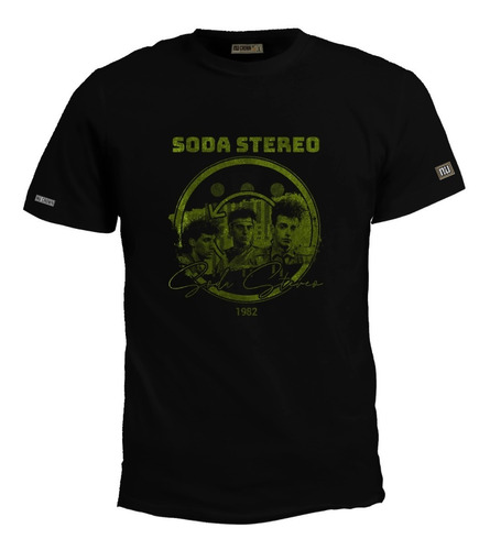 Camiseta Soda Stereo Rock Español Cerati Sodastereo Eco