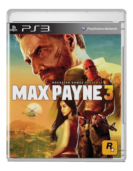 Max Payne 3 Midia Fisica Pronta Entrega Ps3