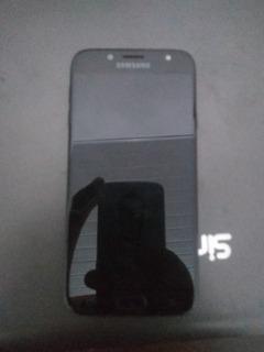 Samsung J7 Pro Tela Queimada