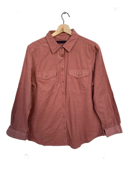 Camisa Camel Corderoy Fino Importada Divina Ideal Xs A 2xl