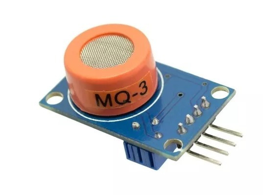 Sensor De Gás Mq-3 Mq3 Álcool Etanol Arduino Raspberry