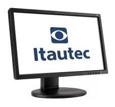 Monitor Itautec Wide 19 Polegadas - Usado!