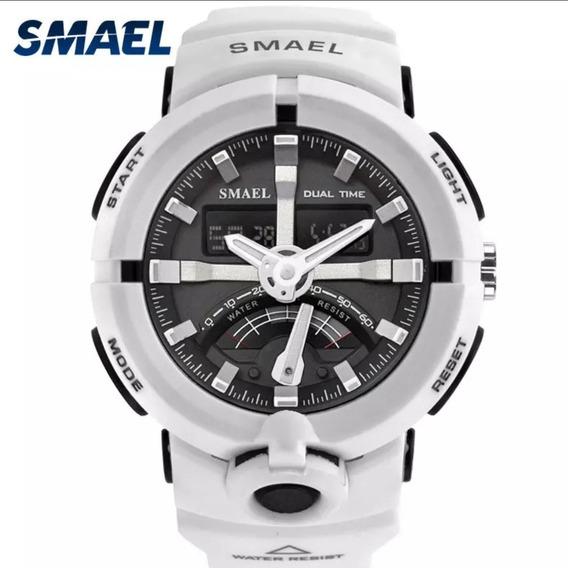 Relógio Masculino Smael Analógico Digital Militar