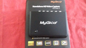 Placa Mygica+spliter Hdmi+cabo Componente+cabo Hdmi