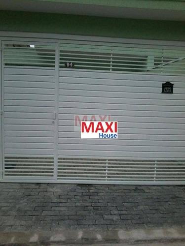 Sobrado 3 Dormitórios À Venda, 120 M² Por R$ 585.000 - Jardim D Abril - Osasco/sp - So0090