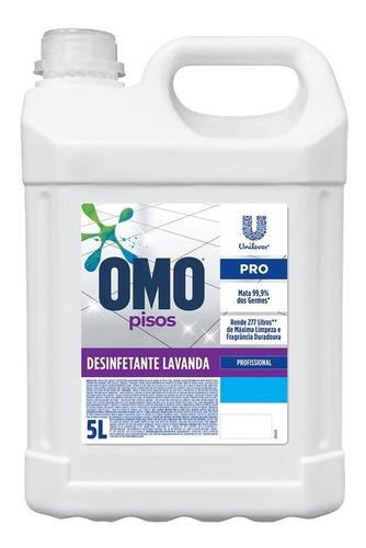 Desinfetante Para Piso Lavanda Omo Pro Galão 5l