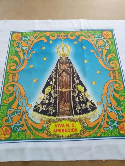 Kit 1 Dúzia Bandeira Nossa Senhora Aparecida