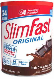 Malteada Slimfast 884gr Sabor Chocolate (34 Malteadas)