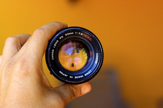 Lente Canon Fd 50mm 1.4 Para Sony A7 A7s A7r A6000 A6300 Nex