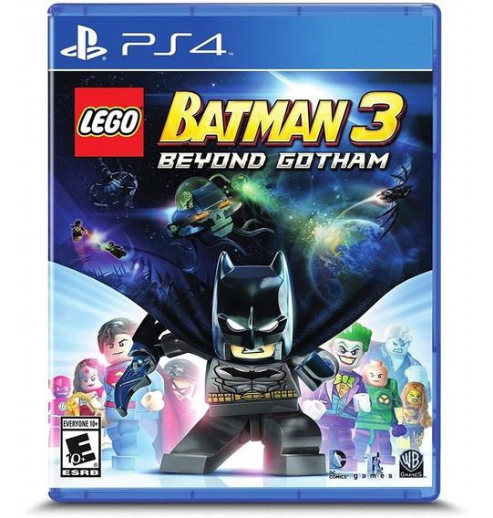 Lego Batman 3: Beyond Gotham Ps4 Mídia Física
