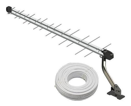 Kit Antena Digital Externa Sinal Log Sl-2800k