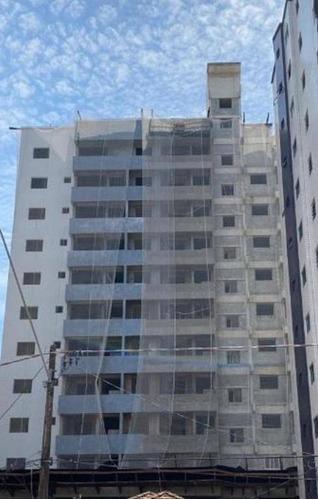 Imagem 1 de 20 de Apartamento Novo A Uma Quadra Da Praia  Com 2 Dormitórios À Venda, 70 M² Por R$ 355.000 - Vila Guilhermina - Praia Grande/sp - Ap3510