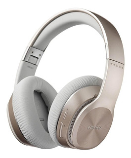 Fone de ouvido sem fio Edifier W820BT dourado