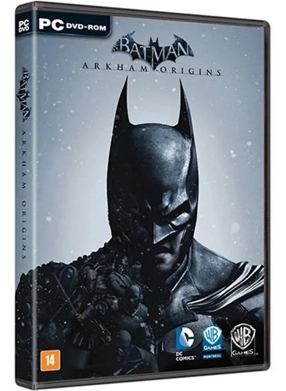 Batman: Arkham Origins Lacrado Física Pc Em Português Brasil