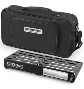 Pedalboard Rockboard Rbob 3.1 Tresb Com Bag + Nf E Grtia