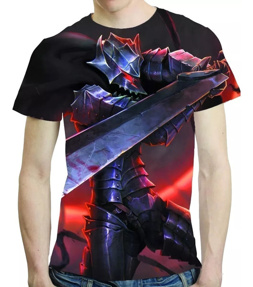 Camisa Anime Camiseta Berserk - Estampa Total 03 0