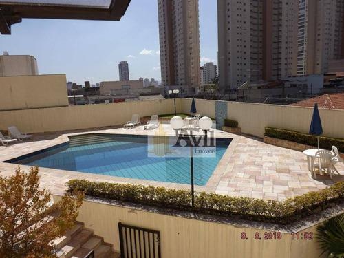 Cobertura Com 4 Dormitórios À Venda, 275 M² Por R$ 2.000.000,00 - Tatuapé - São Paulo/sp - Co0071